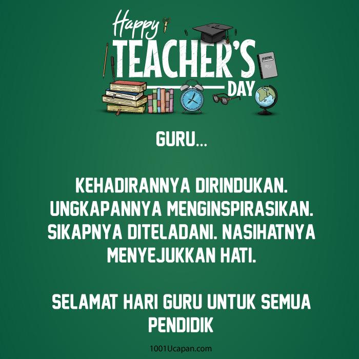 Ucapan Selamat Hari Guru