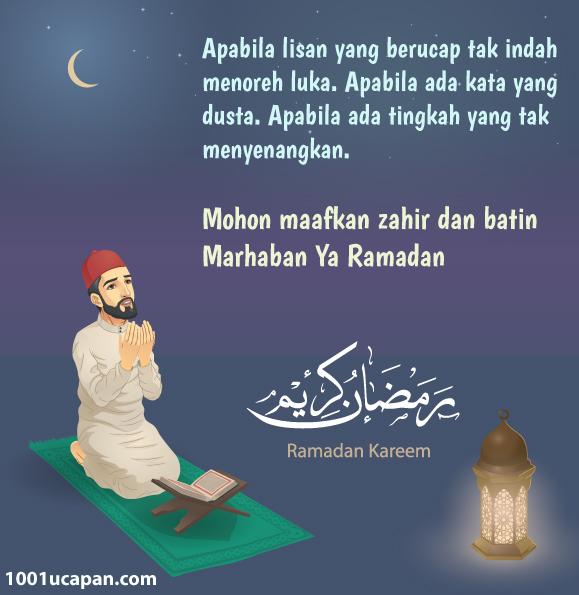 Bergambar Kad Ucapan Menyambut Ramadhan 1001 Ucapan
