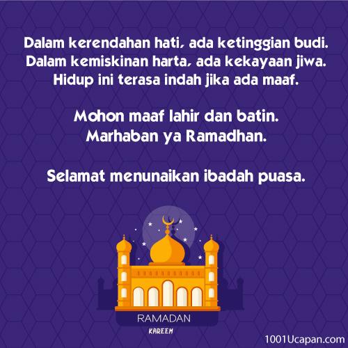 Ucapan Ramadhan Archives 1001 Ucapan