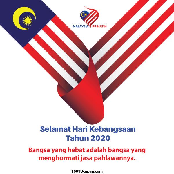 Ucapan Selamat Hari Merdeka dan Kebangsaan Malaysia