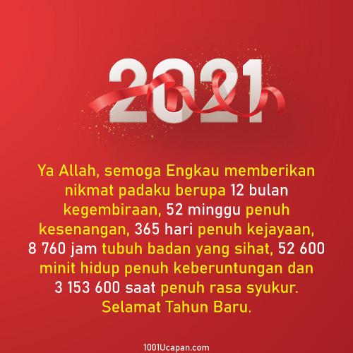 Ada Gambar - Ucapan Tahun Baru 2021