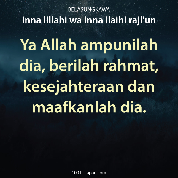 Ucapan Belasungkawa Islami Khusnul Khotimah